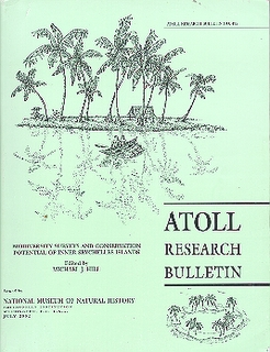 Atoll research bulletin cover scan
